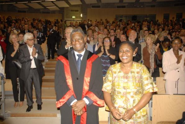 Denis Mukwege : docteur Docteur en sciences médicales de l'ULB