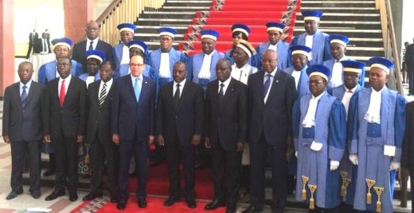 LA COUR DU PRESIDENT DE LA RDC