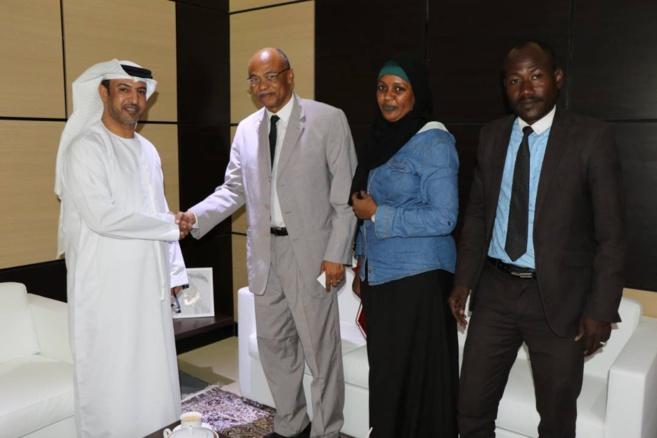 Ahmat Yacoub Dabio s'est entretenu ce mercredi 28 mars 2018 avec l'ambassadeur des Emirats Arabes Unis au Tchad.