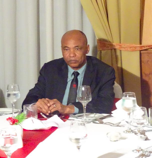 Ahmat Yacoub au Ledger Plazza lors de la cérémonie de festivités de l'anniversaire du Maroc.