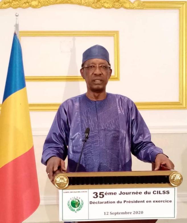 """Inondations : face aux aléas, Idriss Déby juge """"impératif de renforcer la capacité des populations"""""""