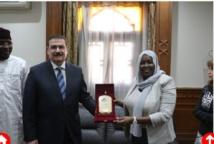La Société tchadienne des eaux et le syndicat des ingénieurs égyptiens signent un protocole d'accord