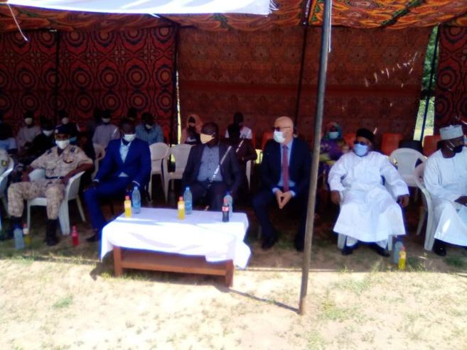 Tchad : du matériel remis à des groupements du Guéra pour appuyer la transition nutritionnelle. © Béchir Badjoury/Alwihda Info
