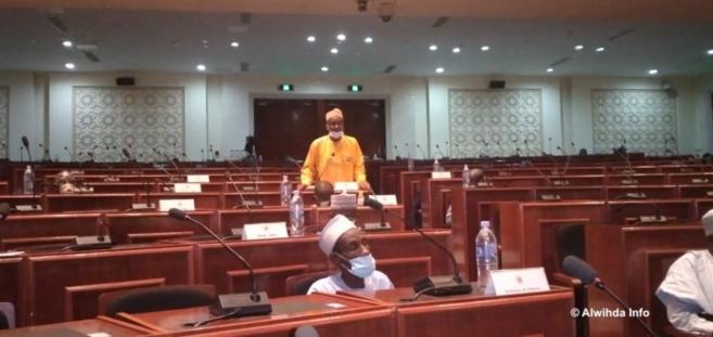 Le député Saleh Kebzabo, le 18 septembre 2020 à l'Assemblée nationale du Tchad. © Ben Kadabio/Alwihda Info