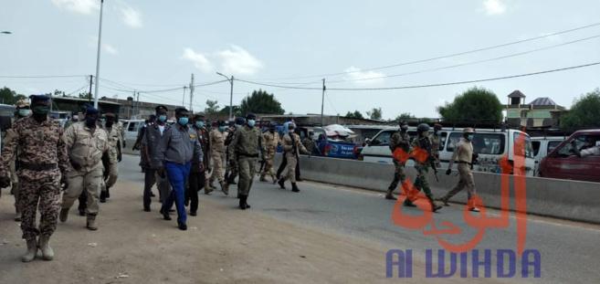 Tchad - Covid-19 : descente de la commission mixte dans les agences de voyage. © Malick Mahamat/Alwihda Info