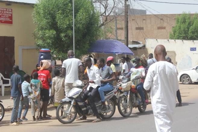 N'Djamena, capitale du Tchad. Illustration © Ben Kadabio/Alwihda Info