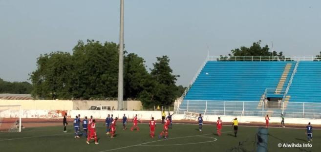 Football : Le Soudan marque un 3ème but face au Tchad