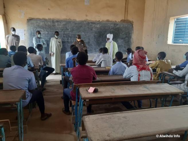 Une salle de classe à Abéché. Image d'illustration © Abba Issa/Alwihda Info