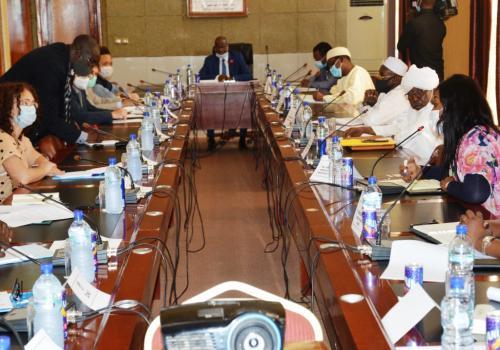 """Tchad : malnutrition chronique, """"nous sommes autour de 32%, c'est très élevé"""". © PR"""
