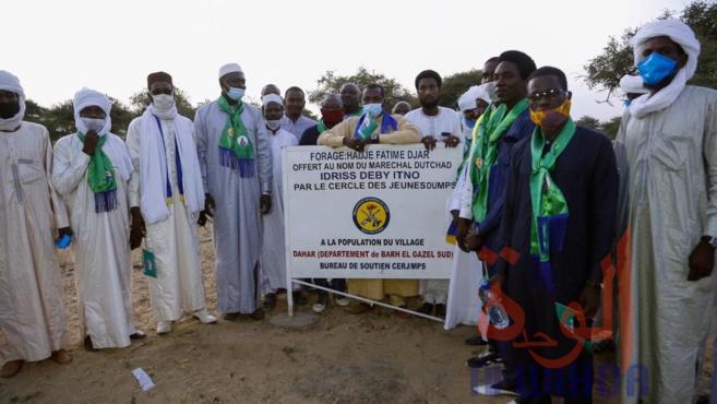 Tchad : le Cercle des Jeunes du MPS inaugure deux forages d'eau près de Moussoro