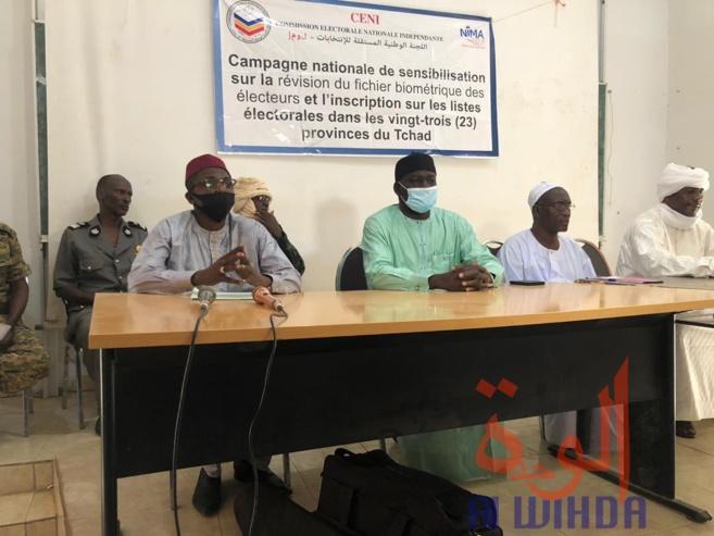 Tchad : une participation massive au recensement électoral attendue au Wadi Fira