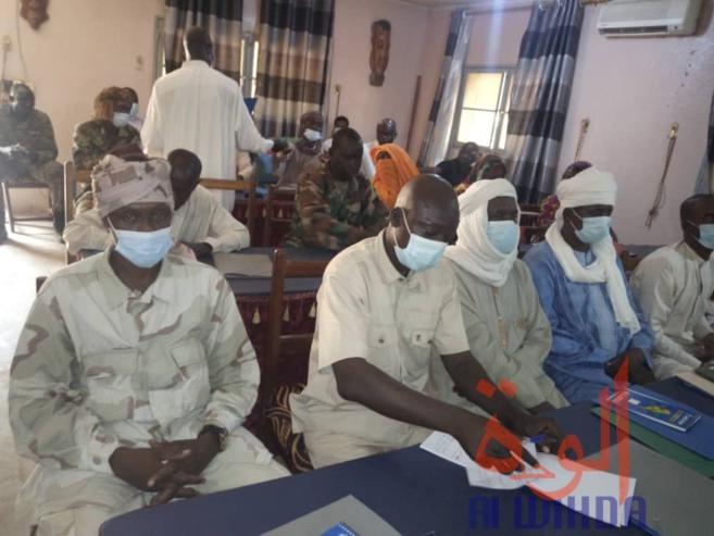 Tchad : à Guitté, les forces de sécurité et la population veulent établir un lien de confiance. © Mbainaissem Gédéon Mbeïbadoum/Alwihda Info