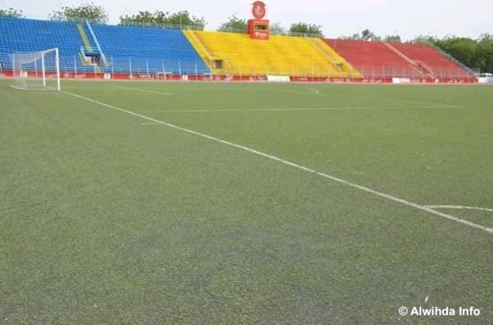 Un stade de football au Guéra. © Béchir Badjoury/Alwihda Info