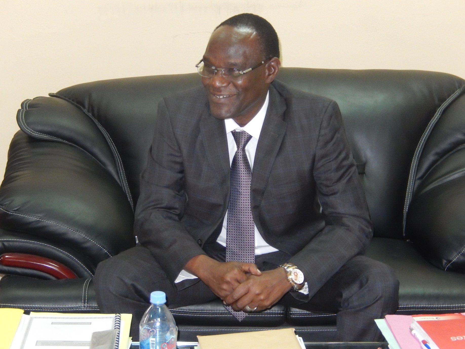 Le ministre de la Justice chargé des droits humains, Djimet Arabi. © Min.Justice