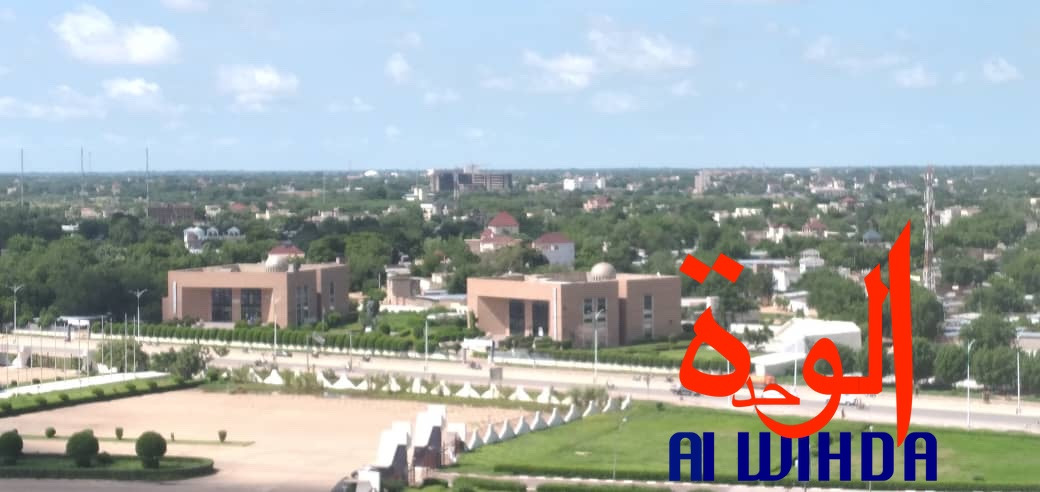 Une vue de la capitale N'Djamena. © Ben Kadabio/Alwihda Info