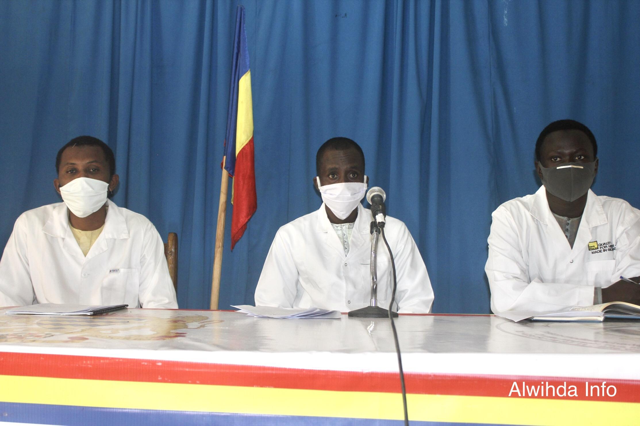 Tchad : les étudiants de Médecine de l'UNABA veulent des solutions concrètes pour la fin de la grève. © Ben Kadabio/Alwihda Info