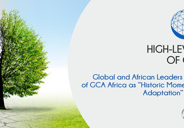 Lancement de GCA Afrique : leaders mondiaux et africains saluent un moment historique pour accélérer l'adaptation. © DR