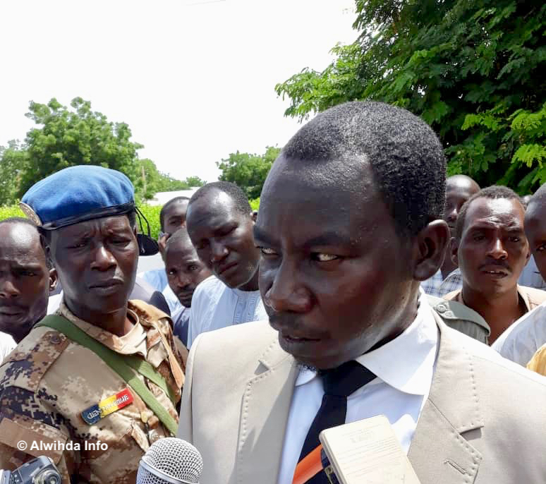 Le procureur de la République Youssouf Tom. © Alwihda Info