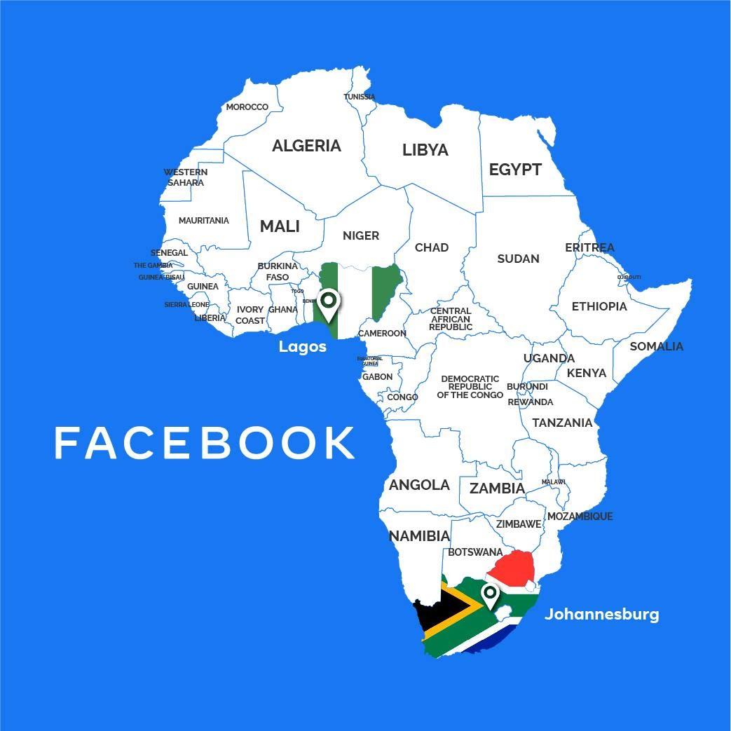 Après l'Afrique du Sud, Facebook annonce l'ouverture d'un bureau au Nigeria
