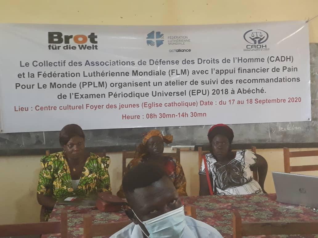 Tchad : un suivi des recommandations de l'examen périodique universel à Abéché. © Abba Issa/Alwihda Info