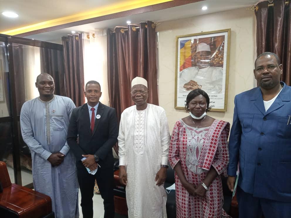 Tchad : L'ambassadeur de l'entrepreneuriat jeune reçu à la Présidence