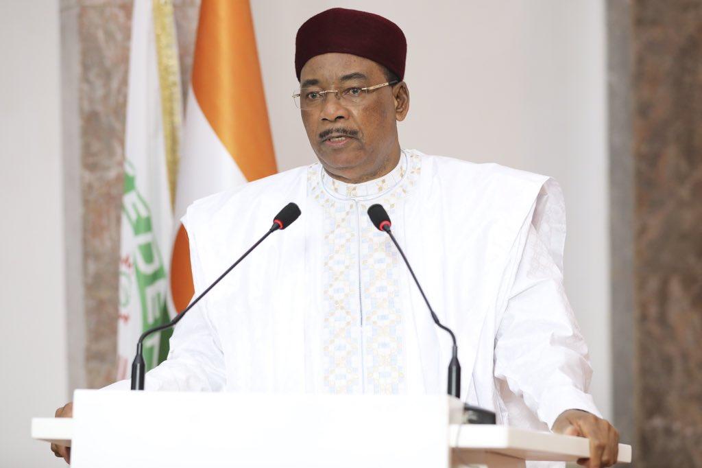 """Tribune de l'ONU : """"C'est la dernière fois que je m'y exprime en qualité de Président du Niger"""". © PR Niger"""
