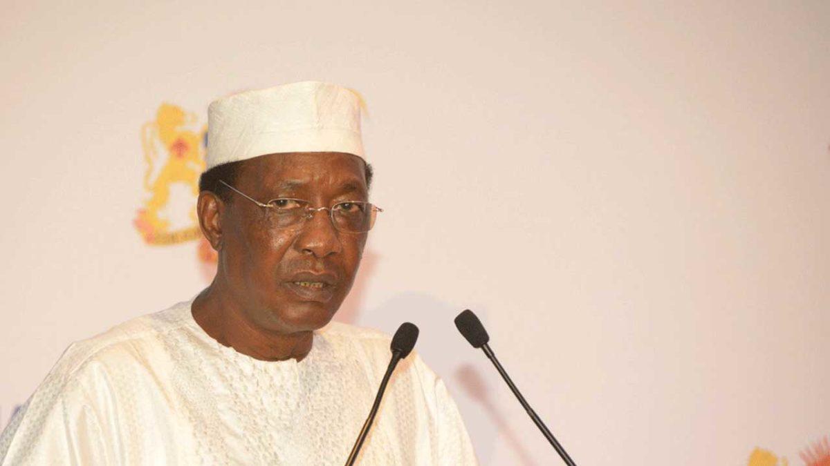 Le président du Tchad Idriss Déby. © DR