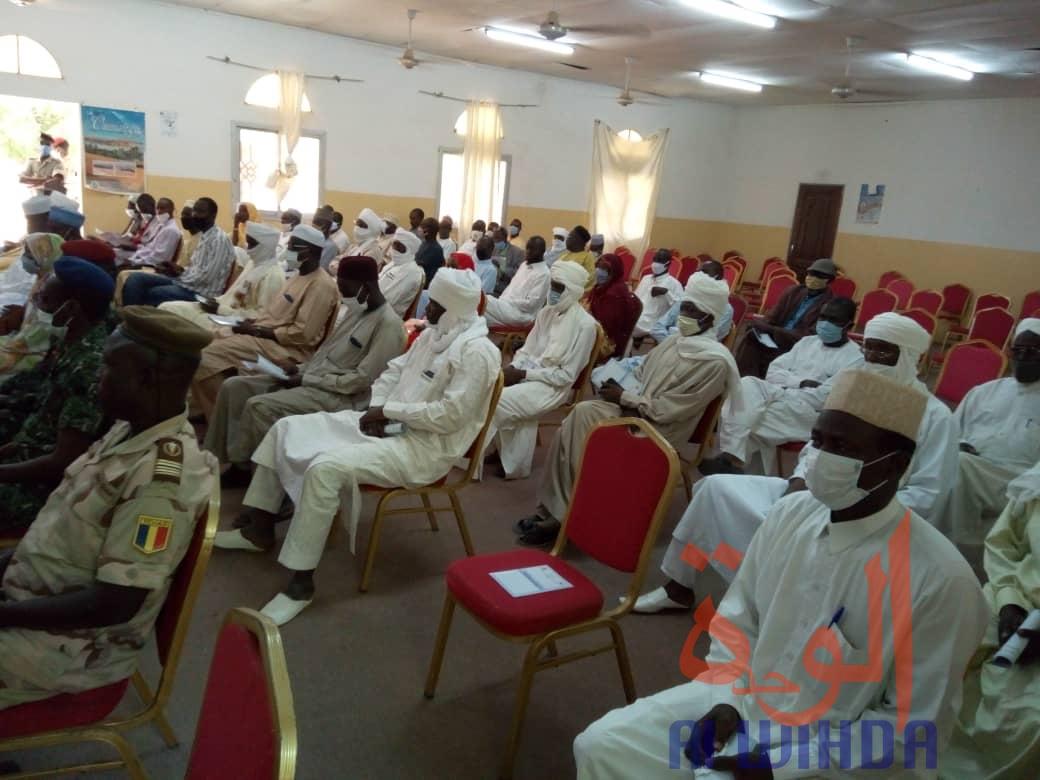 Tchad : la sensibilisation démarre pour inciter à l'inscription sur les listes électorales. © Abba Issa/Alwihda Info