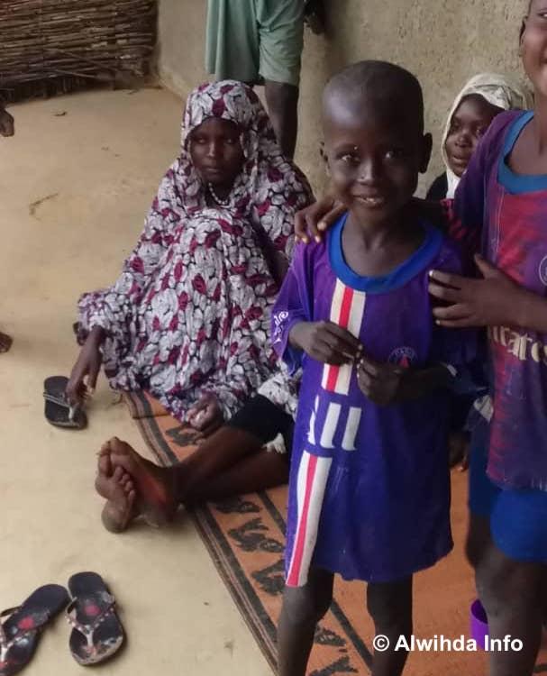 Des victimes d'inondations relogées dans une école à Kerfi (Sila), à l'Est du Tchad. © Mahamat Issa Gadaya/Alwihda Info
