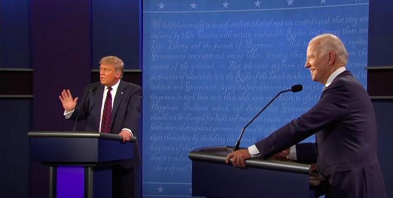 USA : un débat télévisé violent entre le président Trump et Joe Biden