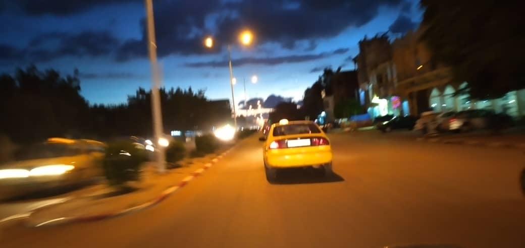 Une rue à N'Djamena en début de soirée. © Ben Kadabio/Alwihda Info