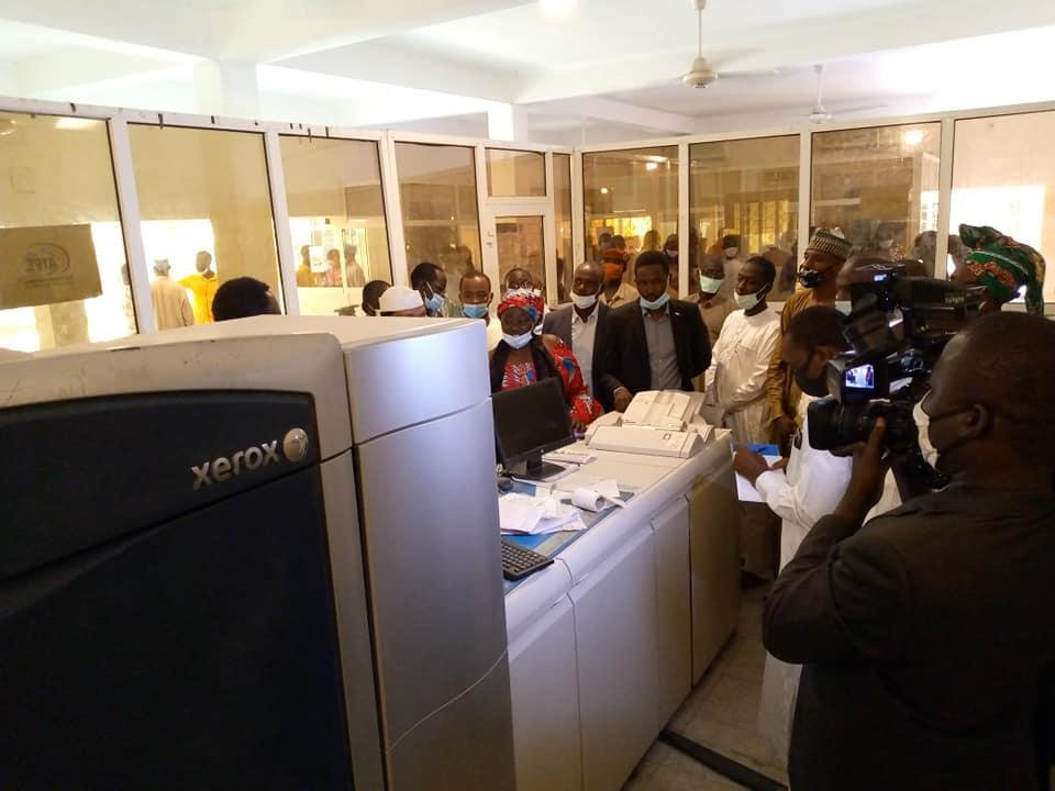 Tchad : l'intrigante imprimante qui a coûté 900 millions Fcfa et n'a jamais été utilisée