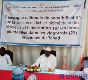 Tchad : la sensibilisation démarre pour inciter à l'inscription sur les listes électorales