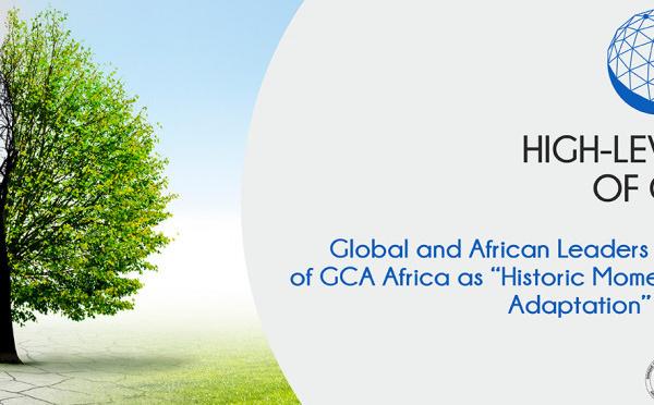 Lancement de GCA Afrique : leaders mondiaux et africains saluent un moment historique pour accélérer l'adaptation