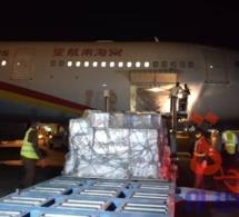 Covid-19 : Le Tchad réceptionne un don de la CNPC à l'aéroport de N'Djamena