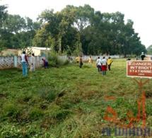 Tchad : à Moundou, la jeunesse et l'armée main dans la main pour la salubrité