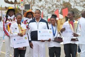 13 édition du SMIB-Madingou 2016 : la kenyane Agness Barsosio réédite l'exploit de Ouesso 2015