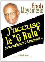 LIVRE : J'accuse le « G Bulu » de tes malheurs, ô Cameroun, d'Enoh Meyomesse