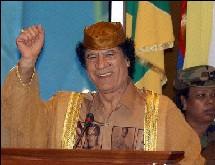 Libye: Kadhafi reçoit un message de George Bush