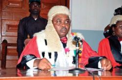 Le président du Tribunal criminel spécial,Yap Abdou
