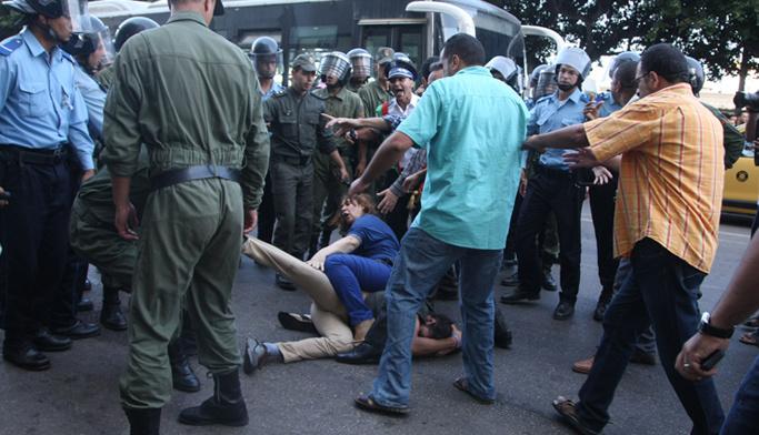 Maroc : Les autorités continuent dans leur répression des manifestations pacifiques