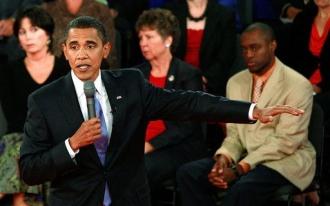 Présidentielle US 2008: Obama vainqueur après le débat, selon CNN