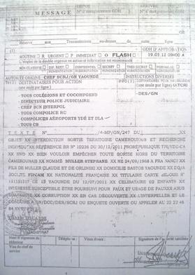 Cameroun/FIPCAM: Un fugitif, le directeur général, MULLER Stéphane interdit de sortie puis débarqué de l'avion.