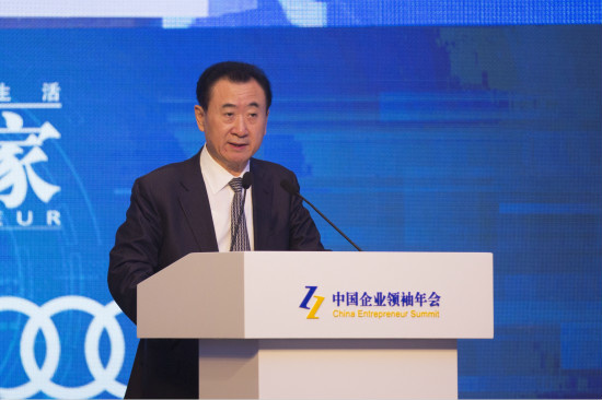 Wanda boss warns Trump against anti-China policies