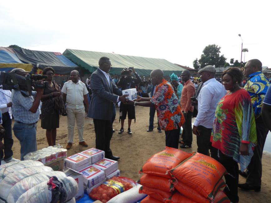 Action humanitaire au Congo : Guy Serge MBOUALA au chevet des déplacés du Pool