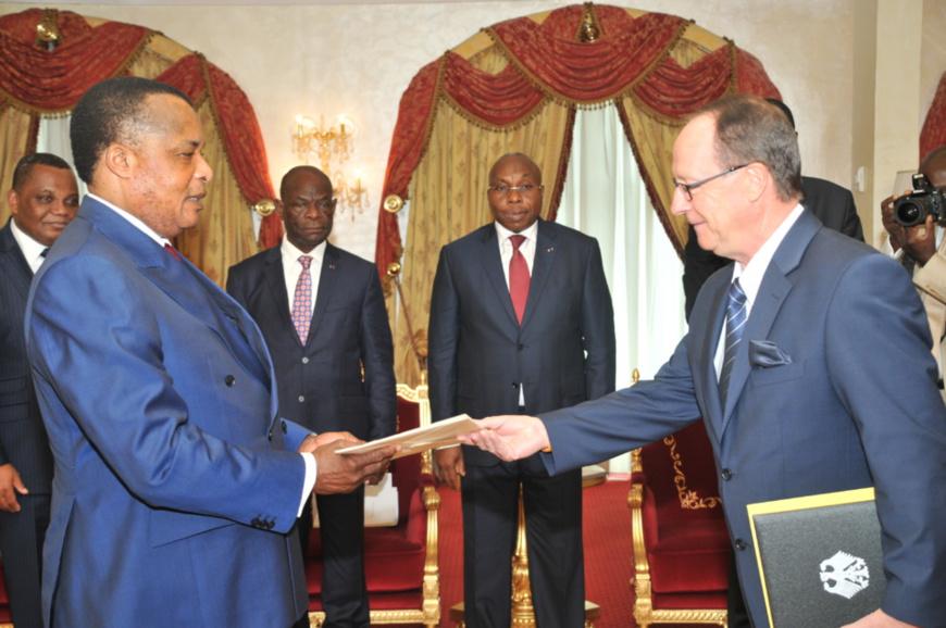 Diplomatie : Klaus Peter Schick ,  nouvel ambassadeur d'Allemagne au Congo