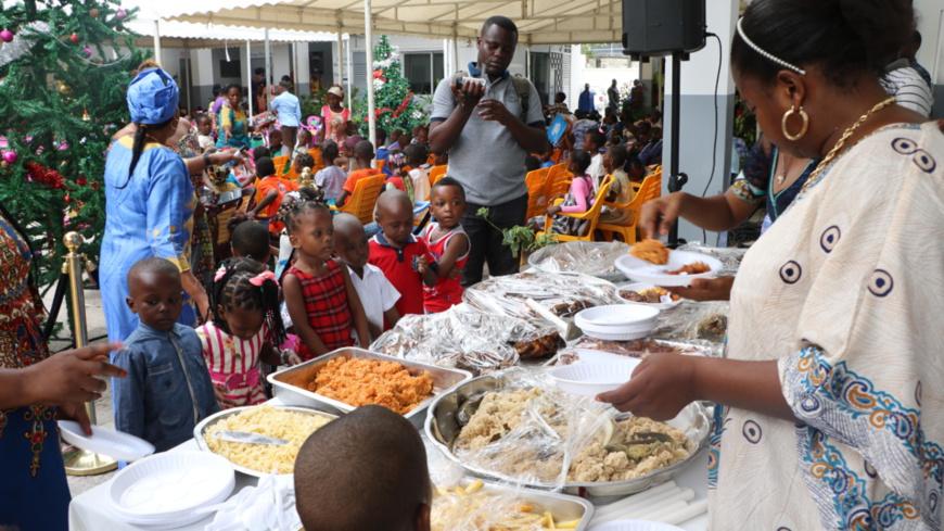 Fête de Noel à Brazzaville : élan de coeur et d'amour de Georgette OKEMBA aux orphelins