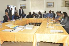 Congo-Guinée Bissau : Le président José Mario VAZ a visité les usines de Maloukou