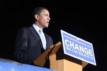 Barack Obama premier noir à être élu à la présidence des Etats-Unis