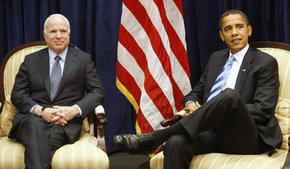 Obama et MacCain se sont rencontrés pour la première fois depuis l'élection présidentielle
